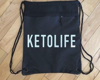 Ketolife Drawstring Backpack