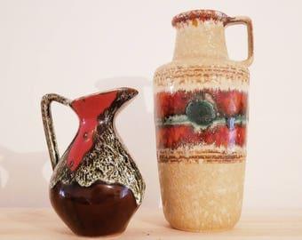 Vase style Vallauris - Vallauris style vase