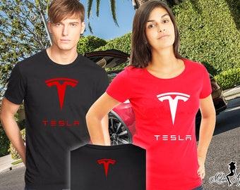 Tesla Shirt, Tesla Tee, Tesla Motors High Quality Soft Unisex T Shirt