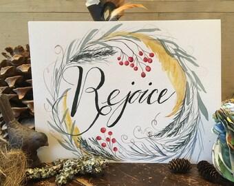 Rejoice Printable