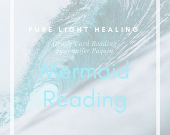Mermaid Oracle Card Reading, 1 Question Reading, Email Reading, Psychic Reading, Oracle Card Reading, Magical Mermaids and Dolphins Oracle