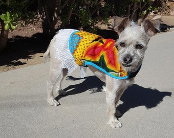 Istmeña Dog Vest in Medium