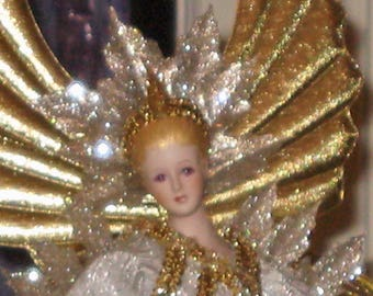 Angel of Light Dazzling Gold and Silver