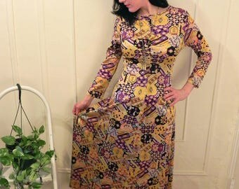 1960's Psychedelic Dress