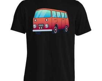 Camper van Holiday Van Men's T-Shirt p503m