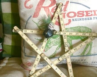 Vintage Industrial Christmas Star