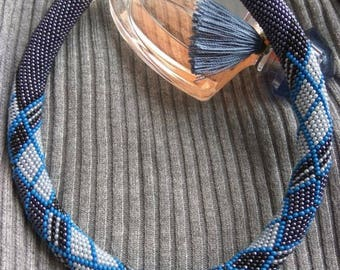 Necklace of Czech beads