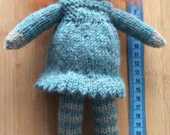 Knitted Waldorf Doll