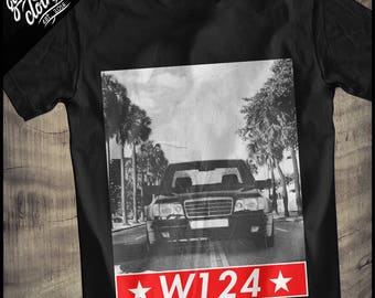 "Mercedes W124 ""Supreme"" T-Shirt"