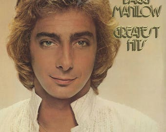 Barry Manilow Greatest Hits Vintage Vinyl Record Album