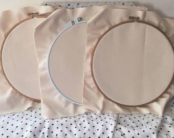 "Custom Embroidery Hoops: 10"""