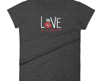 Women's short sleeve t-shirt for Valentines Day
