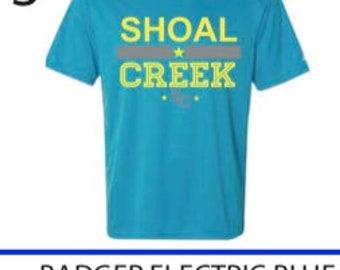 Electric Blue Performance t-shirt