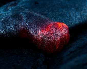 Close Up Lava Foot