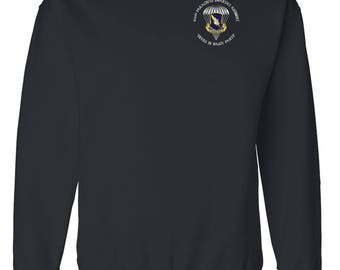 504th Parachute Infantry Regiment Embroidered Sweatshirt-3296
