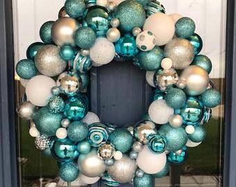 Winter Ornament Wreath