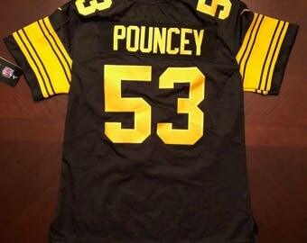 Maurkice Pouncey Women's Jersey, Pittsburg Steelers, Large