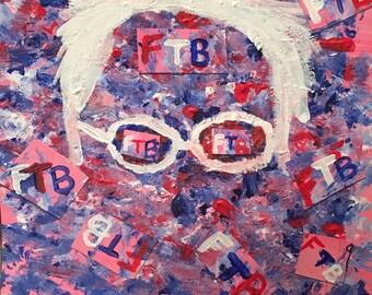 Feel the Bern! - 11X14 Poster Print