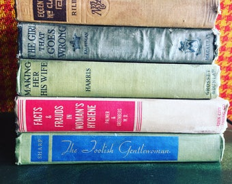 Vintage Books to Give a Laugh! 1940's women, home, behavior, beauty, and health
