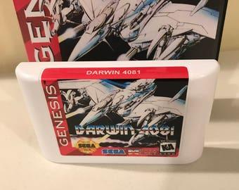 Darwin 4081 Sega Genesis Reproduction Game