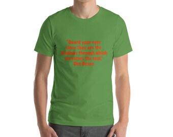St. John Bosco 4 Short-Sleeve T-Shirt Red Lettering
