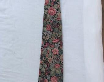 Vintage Floral Tie Wedding Tie