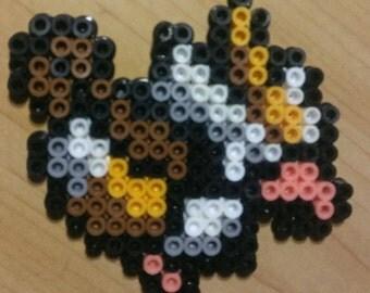 Pidgey Perler Bead Magnet