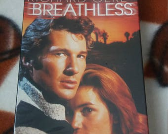 Breathless (1983) VHS Richard Gere, Valérie Kaprisky