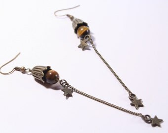 Earrings - semi precious stones