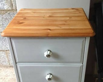 Repainted 4 drawer chest