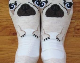 Adorable Pug Socks