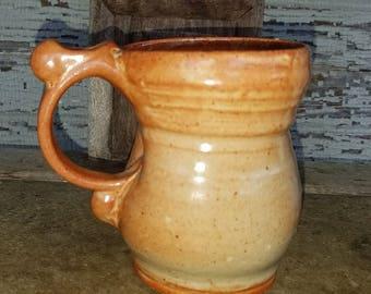 Shino Glazed Mug
