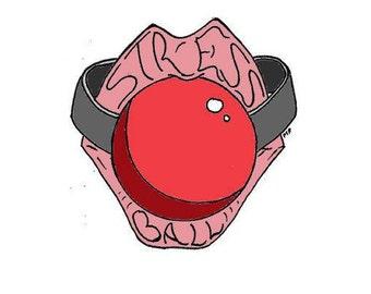 Stress Ball - Art Sticker