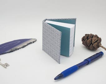 Fabric Hardcover Mini Notebook Casebound Journal