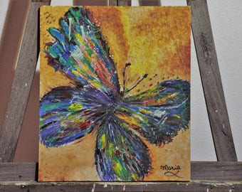 "Painting ""Warm Butterfly"""