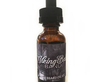 VikingBalms - Bandit - Beard Oil - All Natural 1oz