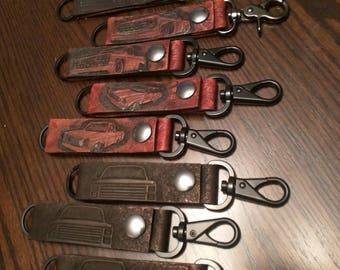 Belt key keeper