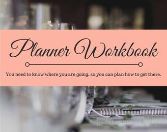 Planner Workbook