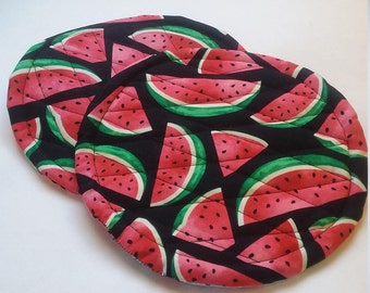 Watermelon Potholders/Hotpads