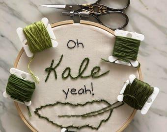 """Oh Kale Yeah! 6"""" Hoop"""