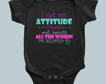 Attitude - Kids / Toddler / Infant / Youth / Onsie / Bodysuit