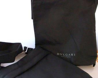 Bulgari canvas bag