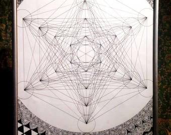 One off piece - Sacred Geometry - (Metaronica)