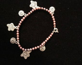 Whimsical Fresh Water Pearl Bracelet