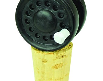Fly Reel Bottle Topper