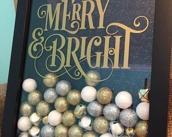 Merry & Bright Christmas Shadow Box