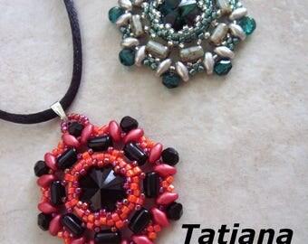 Tatiana pendant beading pattern