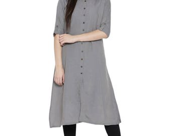 Cotton plane ethnic Kurti/Tunic | summer collection | classic look | indian ethos | indo-western style |