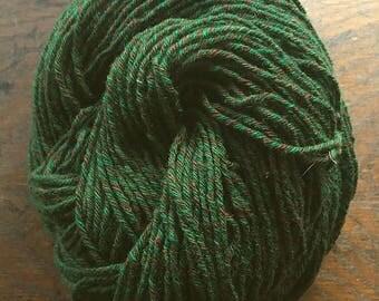 Wool-Camel Blend Hand-plied 6 ply Sporty DK Tweed - Tree of Life - 3.95 oz - 113 g - 234 yds - 213.97 m