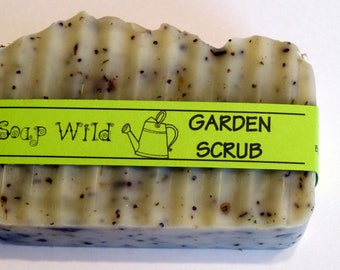 Gardeners Soap Lavender Handmade Soap Pumice Soap Natural